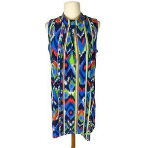Jude Connally Willow Ikat Shift Dress NWT L